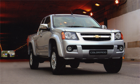 2009 chevy colorado minor change thailand model