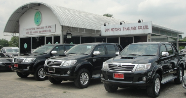 2012 Toyota Vigo Hilux Champ available now at Thailand top 4x4 dealer Jim Autos Thailand