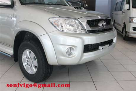 front light of LHD Toyota Hilux Vigo 2011