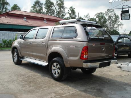 canopy new Toyota Hilux Vigo Double Cab at Thailand's top Toyota Hilux Vigo dealer Jim Autos Thailand
